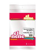 REPUESTO DIBUJO EL NENE BLANCO Nº5. 8 HOJAS - 210672