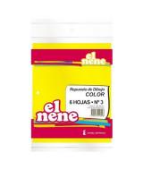 REPUESTO DIBUJO EL NENE COLOR Nº3. 6 HOJAS - 210498