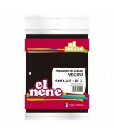 REPUESTO DIBUJO EL NENE NEGRO Nº3. 6 HOJAS - 210579
