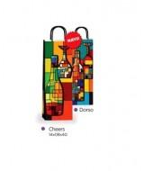 BOLSA DE PAPEL LUNARES CHEERS 14x8x40cm.- 1189