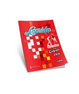 CUADERNO LAPRIDA CALIGRAFIA DOBLE RAYA 16x21cm.24hj.- 611002
