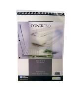 BLOCK CONGRESO C/ESP. A4 RAYADO x 80hj.- 501013