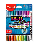 MARCADORES MAPED COLOR PEPS DUO CAJAx10/20 - 847010