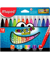 MARCADORES MAPED COLOR PEPS JUMBO CAJAx12 - 846020