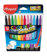 MARCADOR MAPED COLOR PEPS LING LIFE x12 - 845020LM
