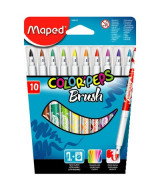 MARCADOR MAPED COLOR PEPS BRUSH x12 - 848010