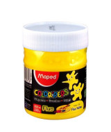 TEMPERA MAPED C.PEPS FLUO AMARILLO - POTEx250gr.- 826575