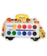 ACUARELA PELIKAN ESCOLAR BUS x 12 COLORES - 048-012-000