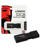 PEN DRIVE KINGSTON 3.0 32GB DT100-G3 NEGRO