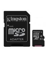 MEMORIA MICROSDXC 64GB CANVAS  KINGSTON
