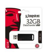 PEN DRIVE KIMGSTON 2.0 DT20 32GB NEGRO