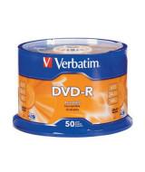 DVD-R VERBATIM 16X - PACKx50 - 97493