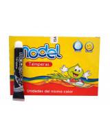 TEMPERA MODEL NEGRA CAJAx10 POMOS - 826041