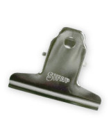 APRIETA PAPEL SIFAP 50mm.C/RESORTE NIQUELADO-BLISTERx6un.