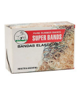 BANDAS ELASTICAS SUPER BANDS DIAM.80mm.x5mm.- BOLSAx500grs.