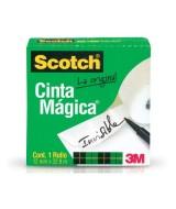 CINTA SCOTCH MAGICA 810 ROLLO 12mm.x33mts.-53488