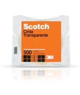 CINTA SCOTCH 500 - ROLLO 12mm.x 66mt.- 17407