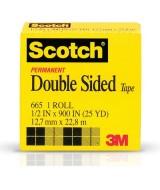 CINTA SCOTCH DOBLE FAZ 12,7mm.x23 mts.- 18273