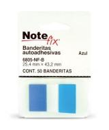 SEÑALADOR BANDERITA N.FIX AZUL x50 - 57395
