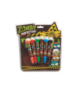 SET BOLW PEN ZOMBIES 6 COLORES - OM115