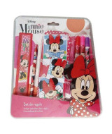 SET MINNIE CANOPLA Y UTILES - KM312