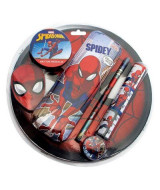 SET SPIDERMAN CANOPLA Y UTILES - HA063