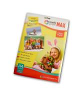 PAPEL GLOSSY MAX 180gr. A4 - PAQ.x20hj.- 891804