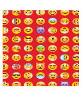 PAPEL L.EXCLUSIVA EMOTICONES 3580/3 - PAQ.x20hj.