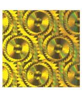 ROLLO PVC MURESCO HOLOGRAF.ORO CLARO 8010/32 45cm.x10mts