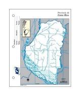 MAPAS COLLEGE T/CARTA ENTRE RIOS POL.-BLOCKx40