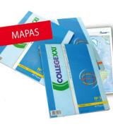 MAPAS COLLEGE T/CARTA MISIONES POL.-BLOCKx40
