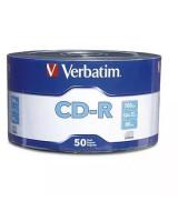 CD-R  VERBATIM 700/80MIN.-BULKx50 - 97488