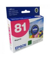 CART.EPSON MAGENTA 81 ALTA CAP.-T081320  (x1)