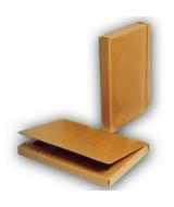 CAJA C/SOLAPA Y ELASTICO ECOLOGICA 4cm.- 100110