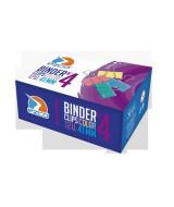BINDER CLIPS EZCO COLOR 41mm.- CAJA x 12 - 520404