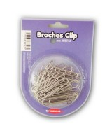 BROCHES CLIP METAL TRAZOS LINE 28mm.