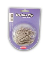BROCHES CLIP METAL TRAZOS LINE 50mm.