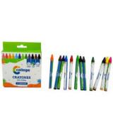 CRAYONES TRAZOS COLORES SURT. x12 - 40112