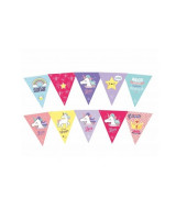 SET BANDERINES MIX UNICORNIO 39x28cm