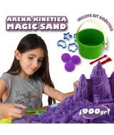 ARENA KINETICA MAGIC SAND EN KIT x3 COLORES 900gr.