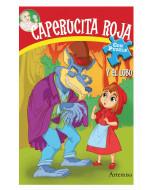 LIBRO DE CUENTOS CAPERUCITA ROJA T/F 8 PAG 19x27cm 686-1