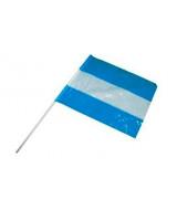 BANDERITA ARGENTINA DE POLIETILENO N*4  17x24cm.- 2202