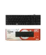 TECLADO USB GTC KBG-204