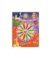 LIBRO PARA COLOREAR RUEDA C/CRAYONES PRINCESAS - 2265