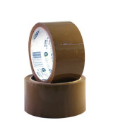 CINTA EMPAQUE GENERAL OFFICE MARRON - ROLLO 48mm.x40mts.