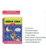 AGENDA 2019 MEDIA LUNA 13x20cm.COLOR 2DxP.1723