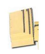 INDICE P/REGISTRADOR A-Z APAISADO 23,5x19,5 - 514