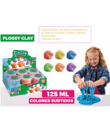 MASA ARENA PAULINDA FLOSSY CLAY VS. COLORES 125 ml. - 4141