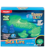SET PAULINDA SANDY CLAY SEA LIFE BRILLA 250gms. - 3808
