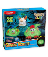 SET PAULINDA SANDY CLAY GLOWING MONSTER BRILLA 500gms - 3815
